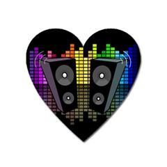 Loudspeakers  Heart Magnet