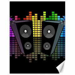 Loudspeakers  Canvas 18  x 24