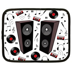Loud music Netbook Case (XXL)
