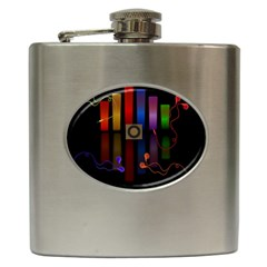 Energy of the sound Hip Flask (6 oz)