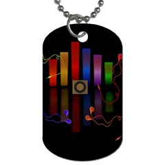 Energy of the sound Dog Tag (Two Sides)