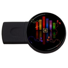 Energy of the sound USB Flash Drive Round (4 GB)