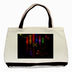 Energy of the sound Basic Tote Bag (Two Sides)