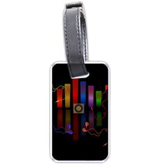 Energy of the sound Luggage Tags (One Side)