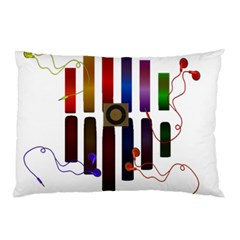 Energy of the sound Pillow Case