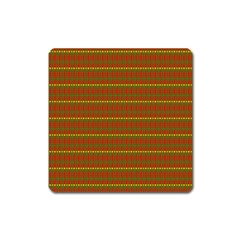 Fugly Christmas Xmas Pattern Square Magnet