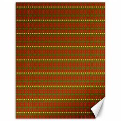 Fugly Christmas Xmas Pattern Canvas 12  x 16