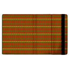 Fugly Christmas Xmas Pattern Apple iPad 2 Flip Case