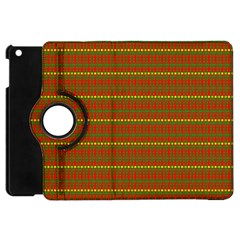 Fugly Christmas Xmas Pattern Apple iPad Mini Flip 360 Case