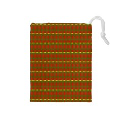 Fugly Christmas Xmas Pattern Drawstring Pouches (Medium)