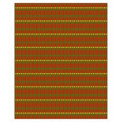 Fugly Christmas Xmas Pattern Drawstring Bag (small)