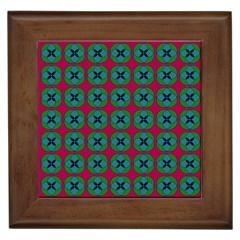 Geometric Patterns Framed Tiles