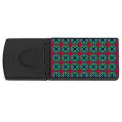 Geometric Patterns USB Flash Drive Rectangular (4 GB)