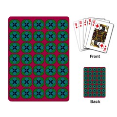 Geometric Patterns Playing Card
