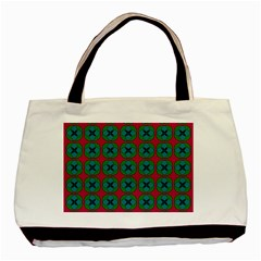 Geometric Patterns Basic Tote Bag (Two Sides)