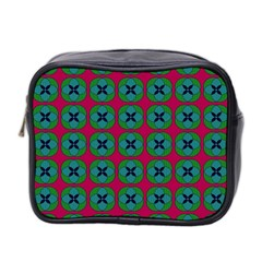 Geometric Patterns Mini Toiletries Bag 2-Side