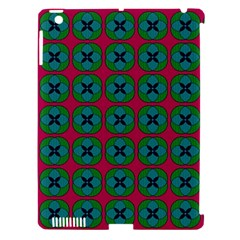 Geometric Patterns Apple iPad 3/4 Hardshell Case (Compatible with Smart Cover)