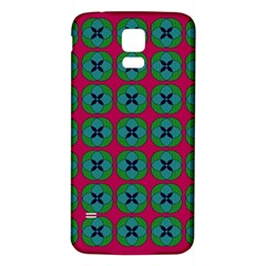 Geometric Patterns Samsung Galaxy S5 Back Case (white)