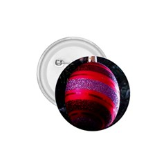 Glass Ball Decorated Beautiful Red 1 75  Buttons