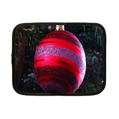Glass Ball Decorated Beautiful Red Netbook Case (Small)