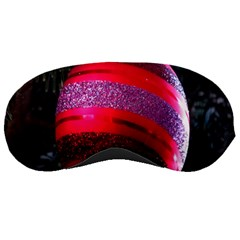 Glass Ball Decorated Beautiful Red Sleeping Masks