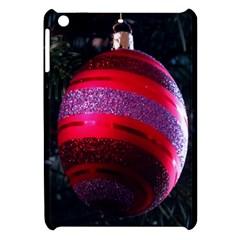 Glass Ball Decorated Beautiful Red Apple Ipad Mini Hardshell Case