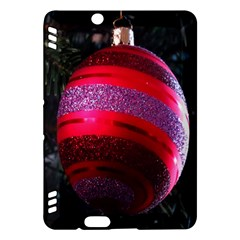 Glass Ball Decorated Beautiful Red Kindle Fire HDX Hardshell Case