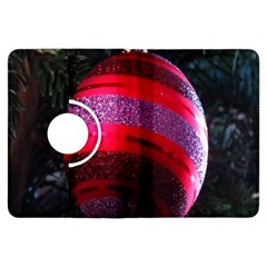 Glass Ball Decorated Beautiful Red Kindle Fire Hdx Flip 360 Case