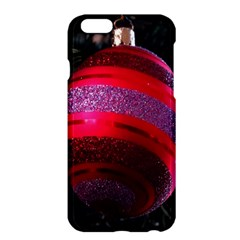 Glass Ball Decorated Beautiful Red Apple iPhone 6 Plus/6S Plus Hardshell Case