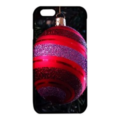 Glass Ball Decorated Beautiful Red iPhone 6/6S TPU Case