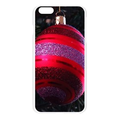 Glass Ball Decorated Beautiful Red Apple Seamless iPhone 6 Plus/6S Plus Case (Transparent)