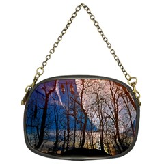 Full Moon Forest Night Darkness Chain Purses (Two Sides)