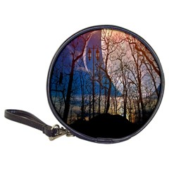 Full Moon Forest Night Darkness Classic 20 Cd Wallets