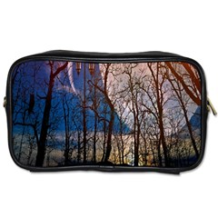 Full Moon Forest Night Darkness Toiletries Bags
