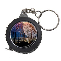 Full Moon Forest Night Darkness Measuring Tapes