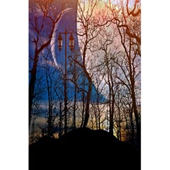 Full Moon Forest Night Darkness 5 5  X 8 5  Notebooks