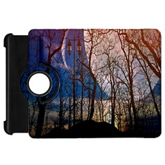 Full Moon Forest Night Darkness Kindle Fire HD 7