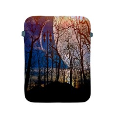 Full Moon Forest Night Darkness Apple Ipad 2/3/4 Protective Soft Cases