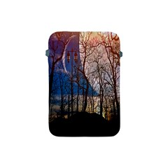 Full Moon Forest Night Darkness Apple Ipad Mini Protective Soft Cases
