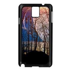 Full Moon Forest Night Darkness Samsung Galaxy Note 3 N9005 Case (black)