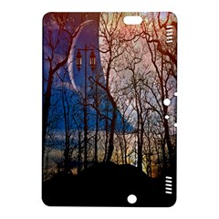 Full Moon Forest Night Darkness Kindle Fire Hdx 8 9  Hardshell Case