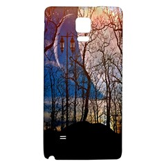 Full Moon Forest Night Darkness Galaxy Note 4 Back Case