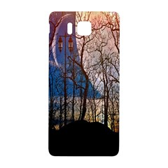 Full Moon Forest Night Darkness Samsung Galaxy Alpha Hardshell Back Case