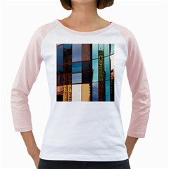 Glass Facade Colorful Architecture Girly Raglans