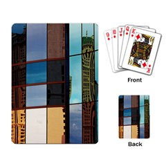 Glass Facade Colorful Architecture Playing Card