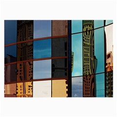 Glass Facade Colorful Architecture Large Glasses Cloth (2-Side)