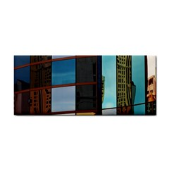 Glass Facade Colorful Architecture Cosmetic Storage Cases