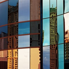 Glass Facade Colorful Architecture Magic Photo Cubes