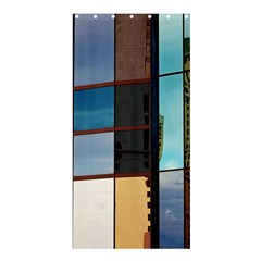 Glass Facade Colorful Architecture Shower Curtain 36  x 72  (Stall)