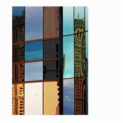 Glass Facade Colorful Architecture Large Garden Flag (Two Sides)